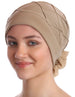 Deresina Diamond patterned hat for chemotherapie cream