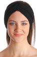 Cross Headband - Black