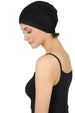 Jewelled Front Essential Cap - Black