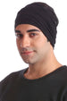 Cotton Headband for Men - Black