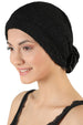 Rose Headwear - Rich Black