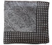Everyday Square Head Scarf - Black Cream Lace Pattern