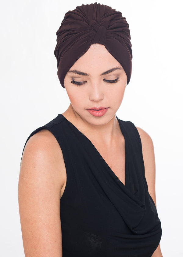 W Turban - Brown (Exclusive)