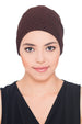 Rose Headwear - Brown