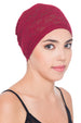 Lace Essential Cap For Hair Loss - Burgundy
