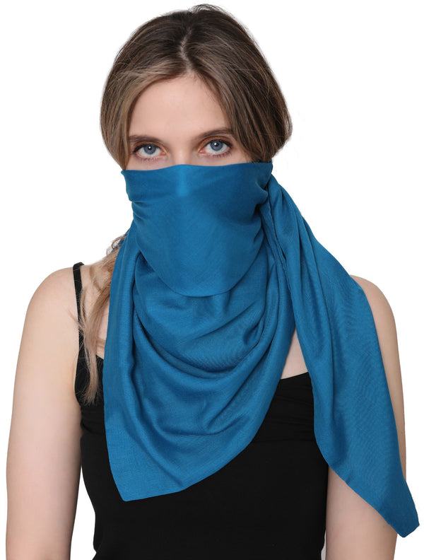 Unisex Scarf Face Mask, Headscarf, Neckscarf, Bandana- Carolina