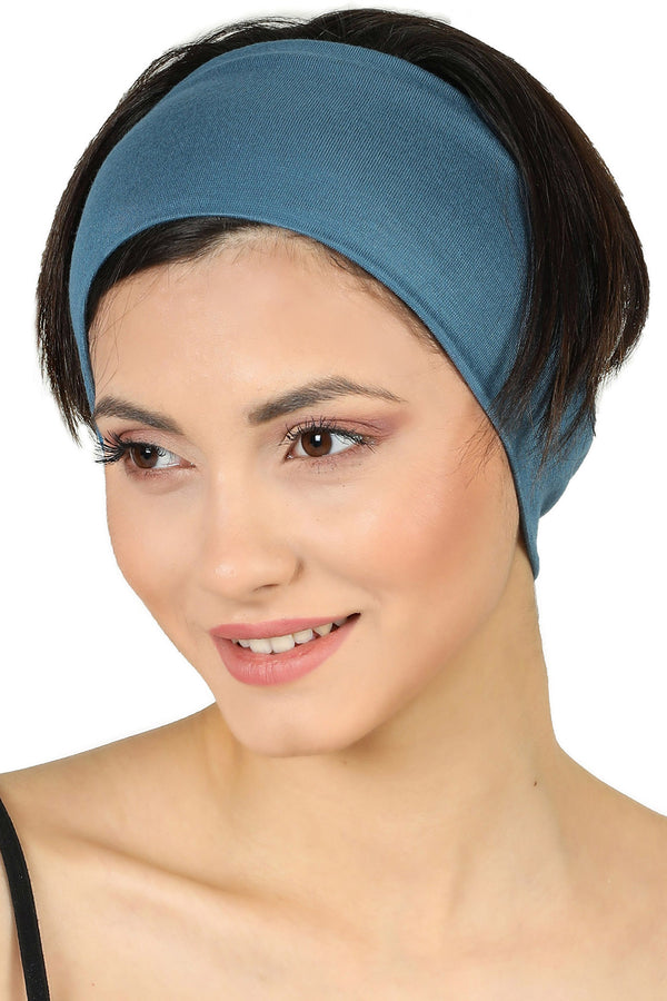Plain Headband - Caroline Blue