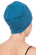 Deresina Unisex chemo sleep cap carolina blue