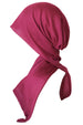 Easy Tie Head Scarf  (Cherry)