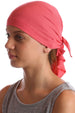 Deresina Teen indoor bandana for hairloss brickpink