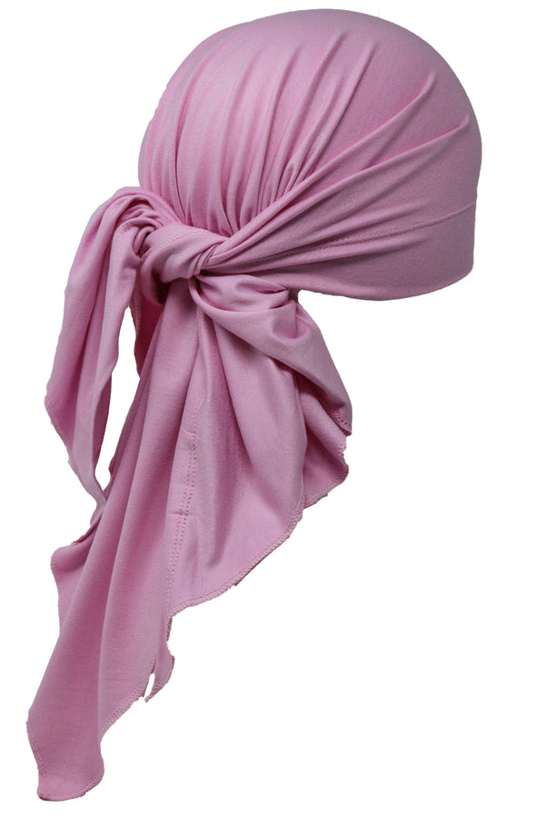 Deresina Large Cotton chemo bandana for men daisy pink