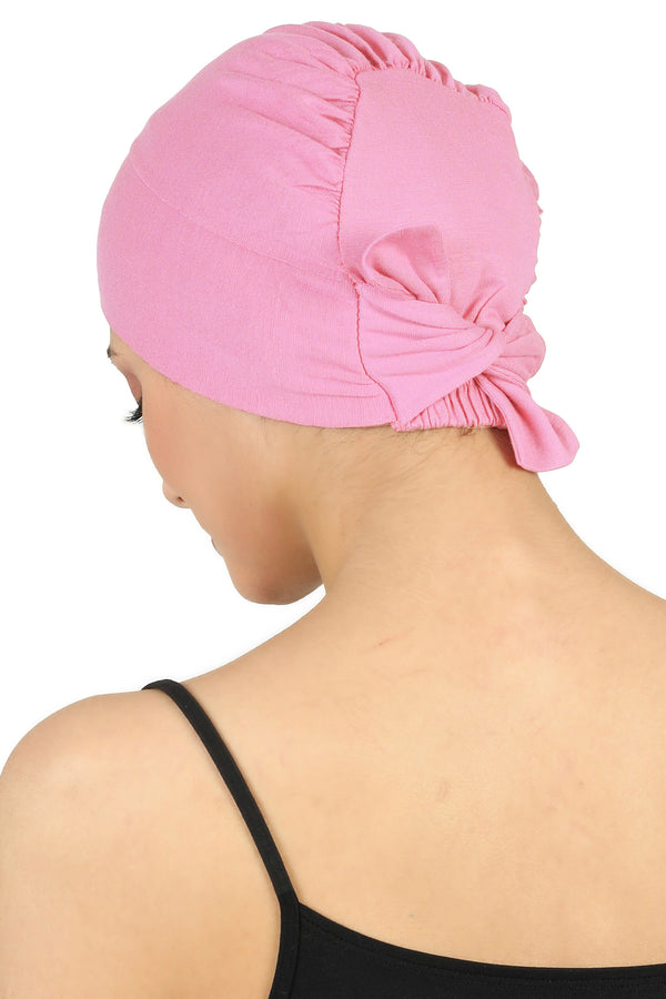 Double Layer Tie Back Cotton Cap - Daisy