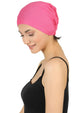 Essential Plain Cotton Cap - Deep Pink