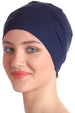 Deresina Unisex chemo sleep cap denim