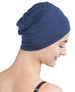 Wrap-fit Sleep Cap - Denim