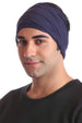 Cotton Headband for Men - Denim