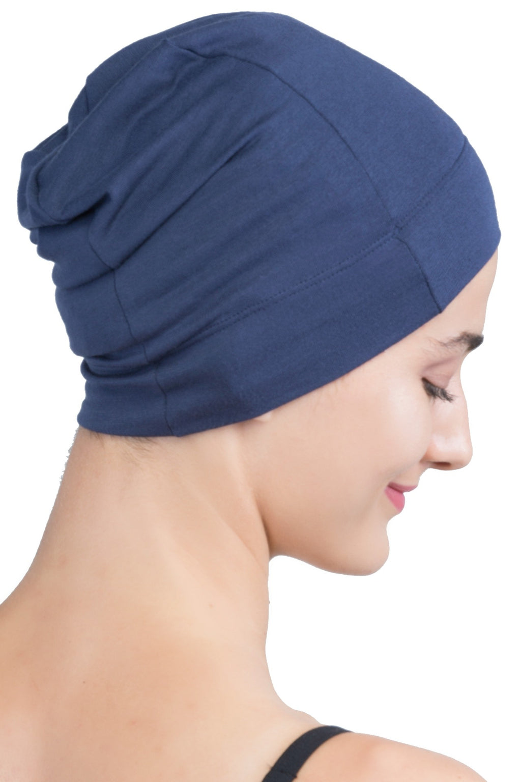 Snug Fit Sleep Cap - Denim