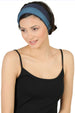 Reversible Headband-Denim/Carolina