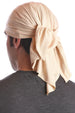 cotton chemo bandana for men beige
