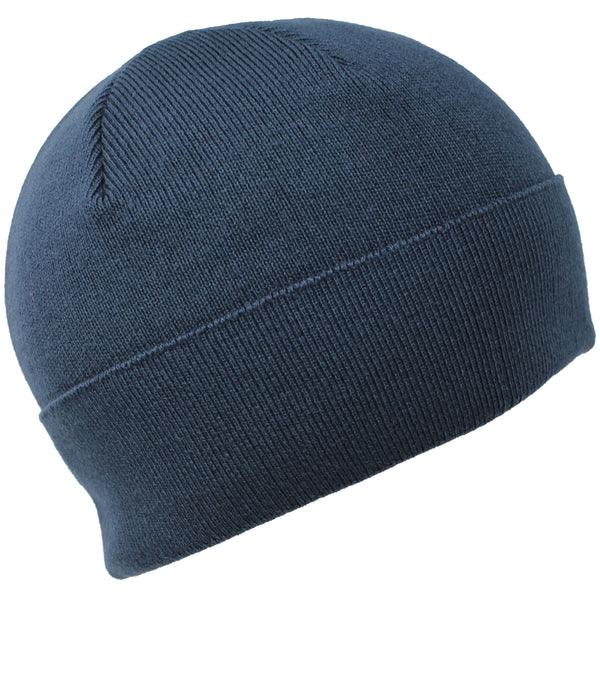 Men Knit Hat Full Fleeced - Air Force Blue Full Fleeced Beanie
