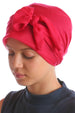 Easy Tie Head Scarf for Girls - Fuschia