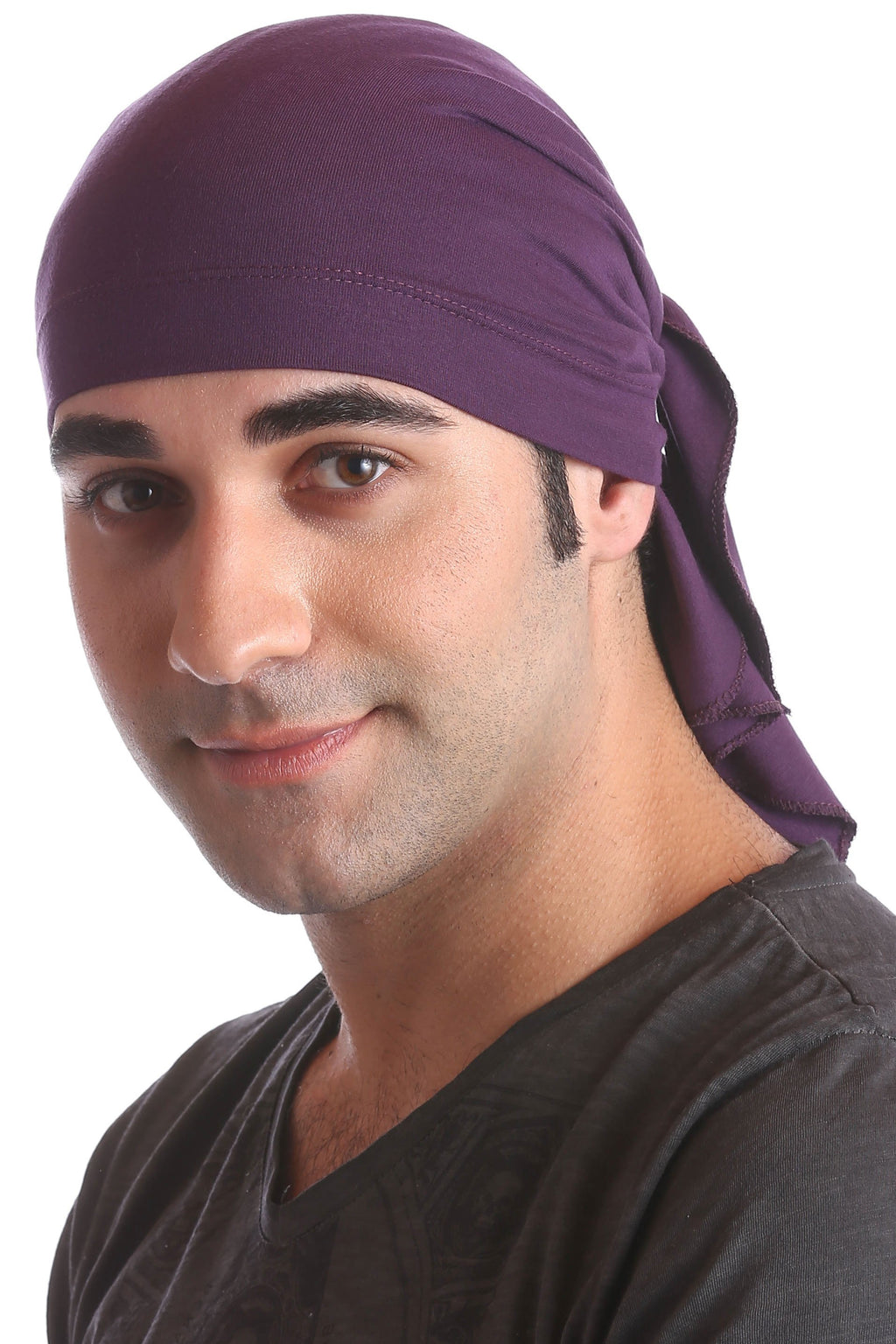 cotton chemo bandana for men mulberry