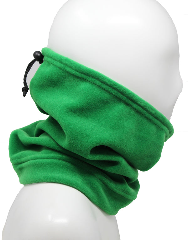Polar Fleece Snood -Lime Green