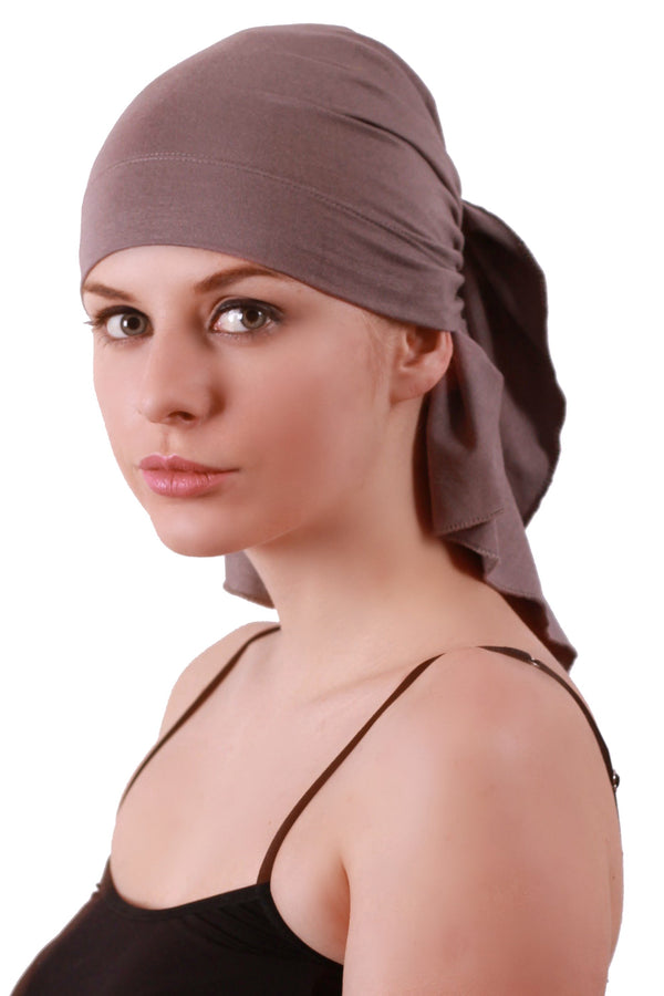 Deresina extra large cancer bandana grey