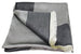 Reversible Square Head Scarf - Grey