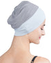 Wrap-fit Sleep Cap - Grey Light Grey