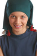 No Tie Bandana for Youth - Jade Green with Tassels