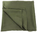 Deresina Everyday square chemo headscarf hunter green