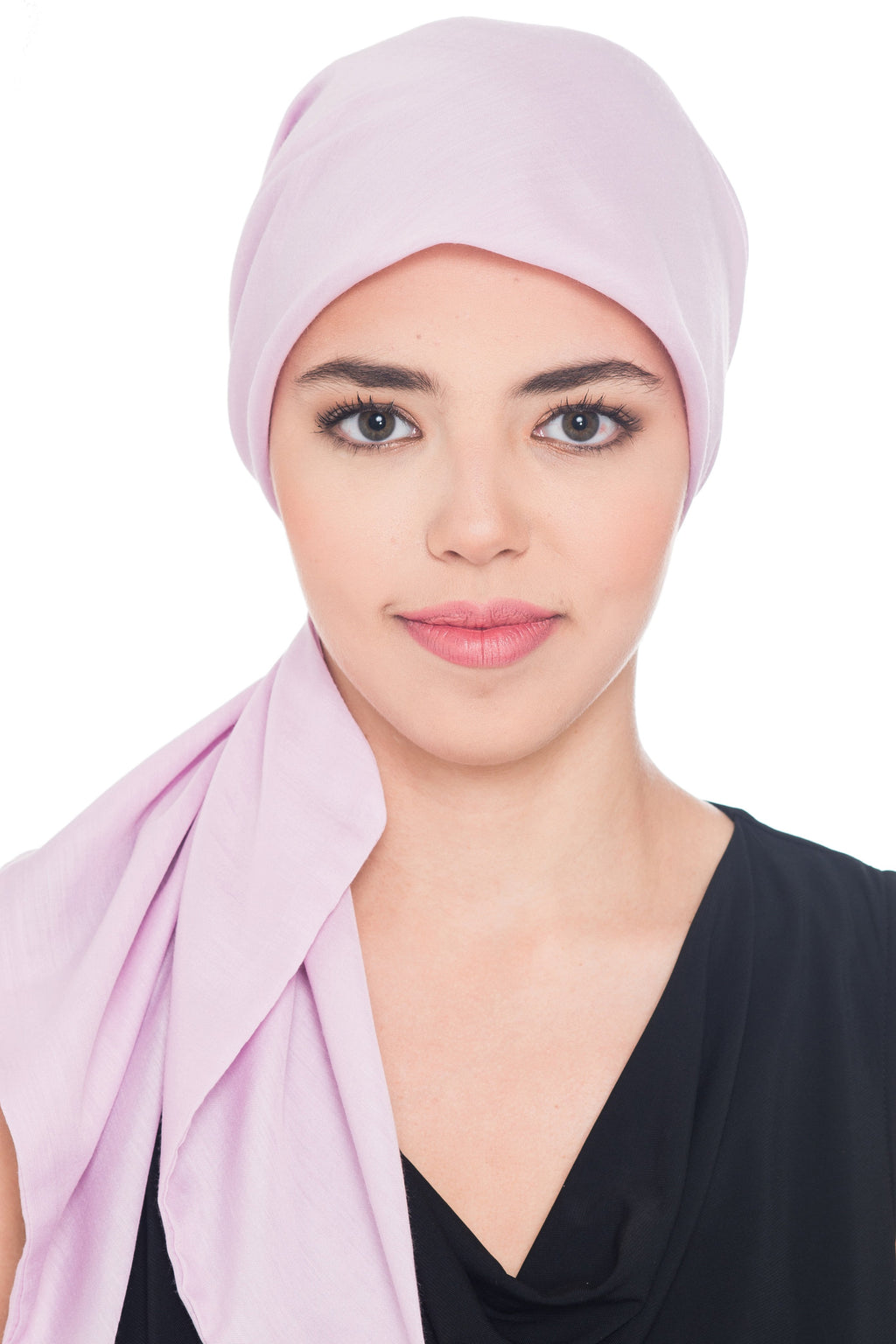 Deresina Ultra Soft Chemo Headscarf Plain Lila