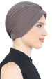 Deresina Pearl detail turban for cancer patients mink