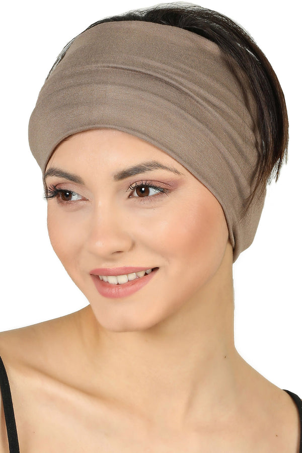 Plain Headband - Mink