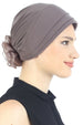 Deresina Padded hat for cancer patients mink