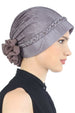 Deresina Braided beaded hat for hairloss for hairloss mink