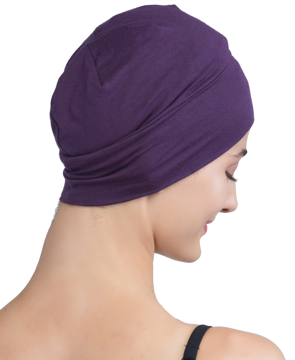 Wrap-fit Sleep Cap - Mulberry