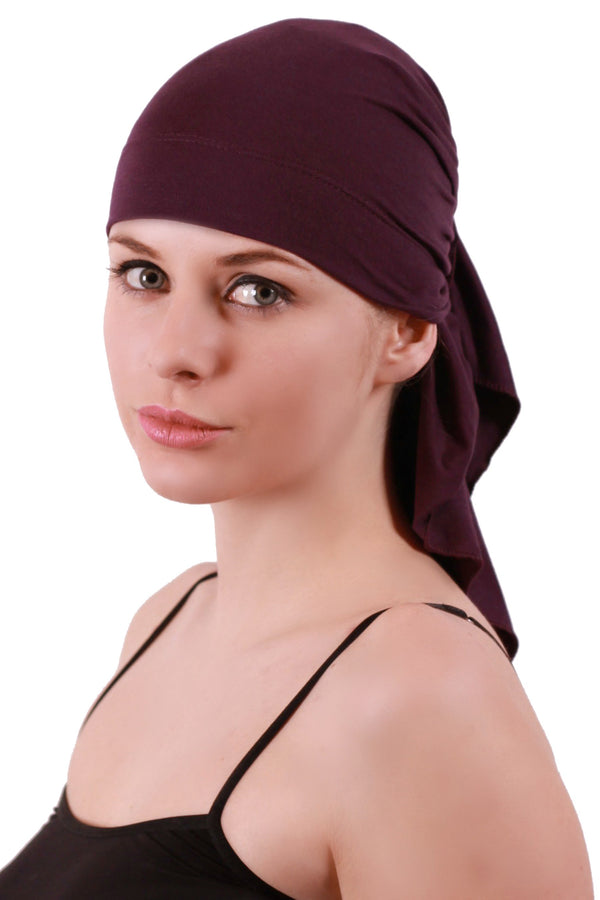 Deresina extra large cancer bandana mulberry
