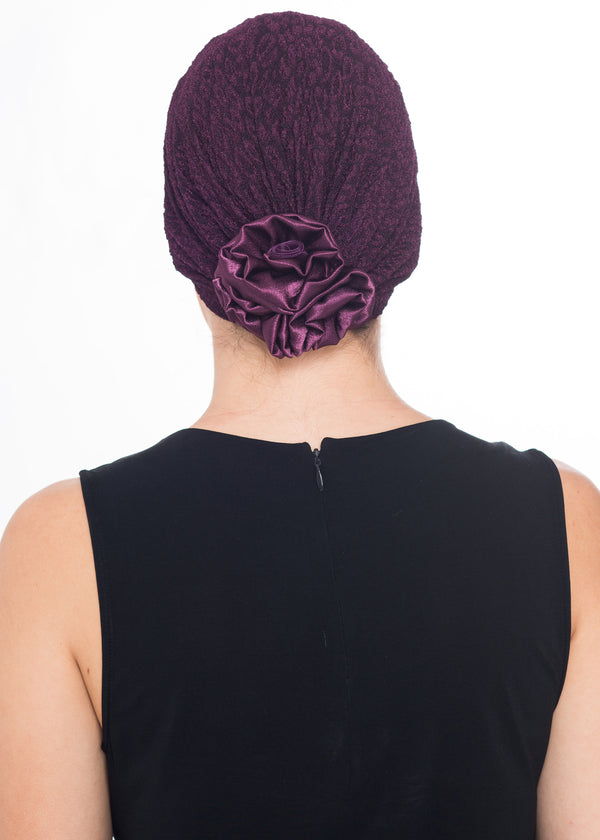 Rose Headwear - Mulberry (Exclusive)