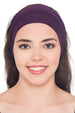 Plain Headband - Mulberry