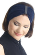 Jewelled Headband (Navy)
