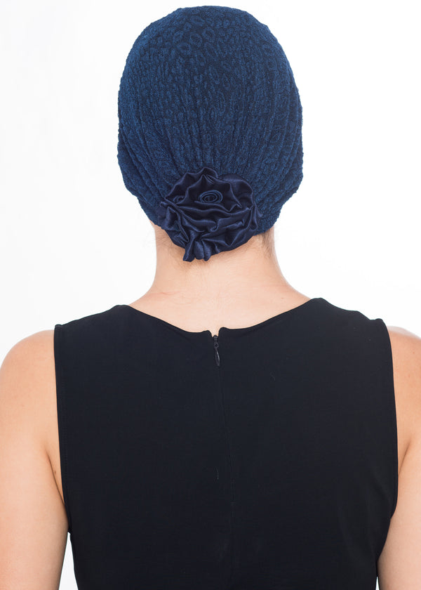 Rose Headwear - Navy (Exclusive)