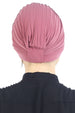 Deresina Pearl detail turban for cancer patients paris pink