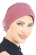 Deresina Padded hat for cancer patients paris pink