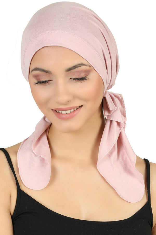 Pre tied Cotton Bandana - Powder
