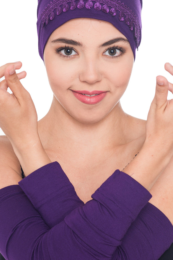 Arm Warmer - Purple