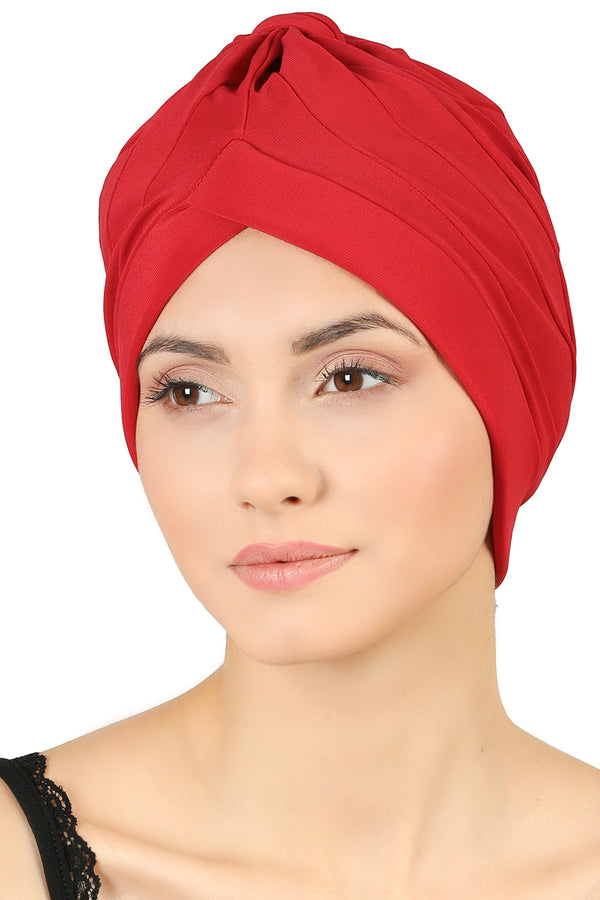 Top Knob Headwear - Red