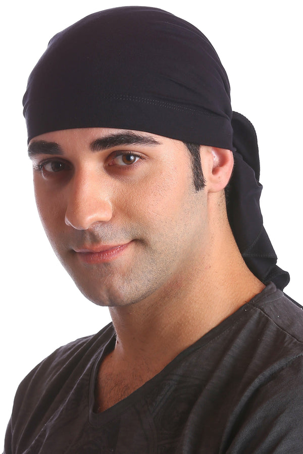 cotton chemo bandana for men black