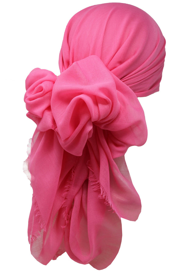 Ultra Soft Head Scarf - Rubi with Edges